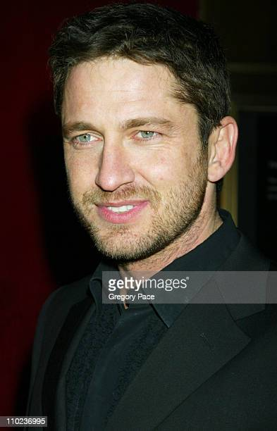Gerard Butler during The Phantom of the Opera New York Premiere Inside Arrivals at Ziegfield Theater in New York City New York United States