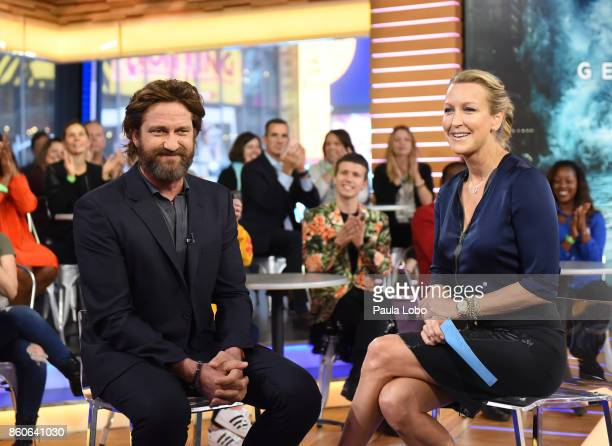 AMERICA Gerard Butler is a guest on 'Good Morning America' on Thursday October 12 airing on the ABC Television Network GERARD