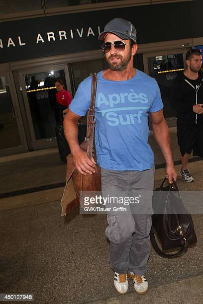 Gerard Butler seen at LAX on June 05 2014 in Los Angeles California