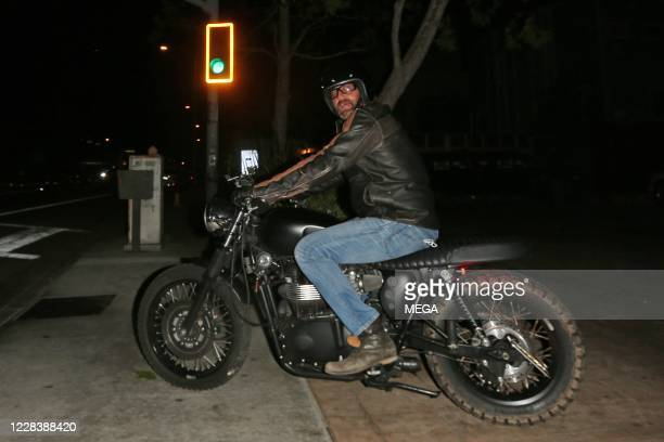 Gerard Butler seen leaving Nobu on September 6, 2020 in Malibu, California.
