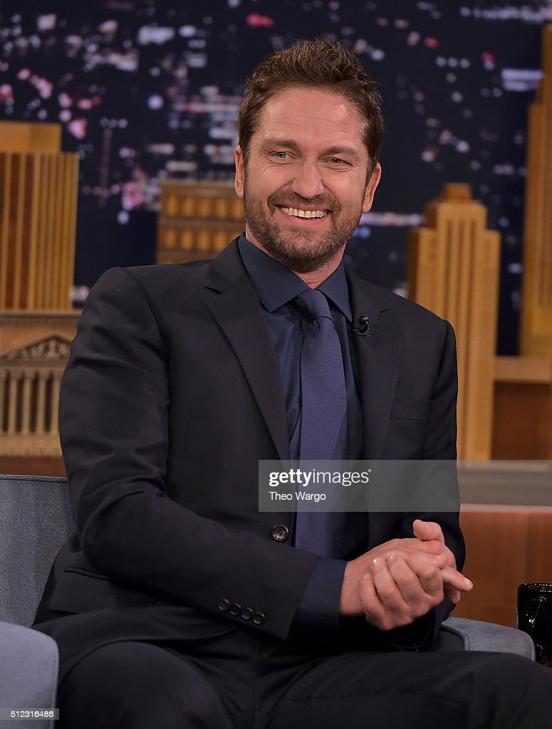 "Gerard Butler Visits ""The Tonight Show Starring Jimmy Fallon"""