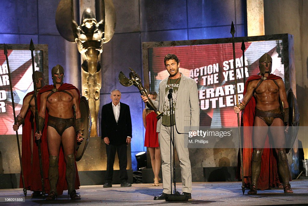 Gerard Butler, winner Action Movie Star of the Year Award