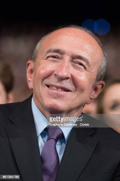 Gerard Collomb attends the Opening Ceremony of the 9th Film Festival Lumiere on October 14 2017 in Lyon France