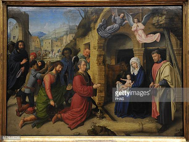 Gerard David Early Netherlandish painter Gothic style Adoration of the Magi 1512 Alte Pinakothek Munich Germany