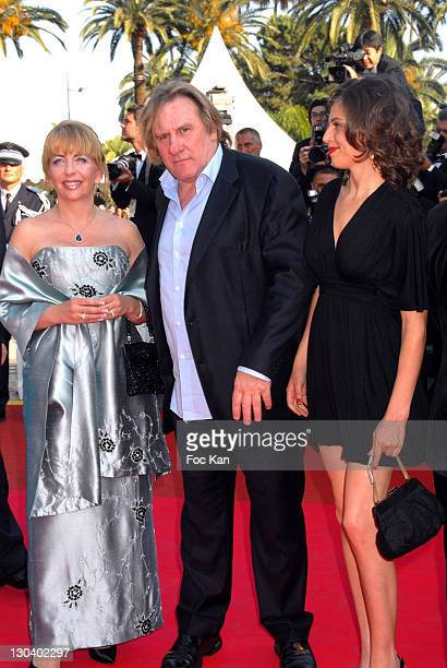 Gerard Depardieu and Guests during 2007 Cannes Film Festival 'Chacun Son Cinema' All Directors Premiere at Palais des Festival in Cannes France