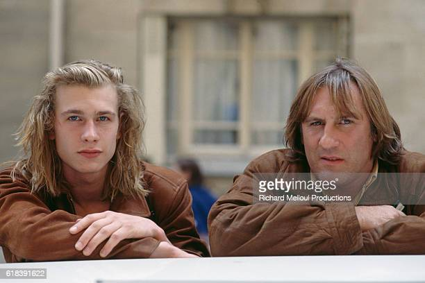 Gerard Depardieu and His Son Guillaume
