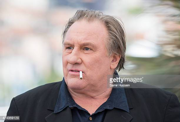 "Gerard Depardieu attends the ""Valley Of Love"" Photocall during the 68th annual Cannes Film Festival on May 22, 2015 in Cannes, France."