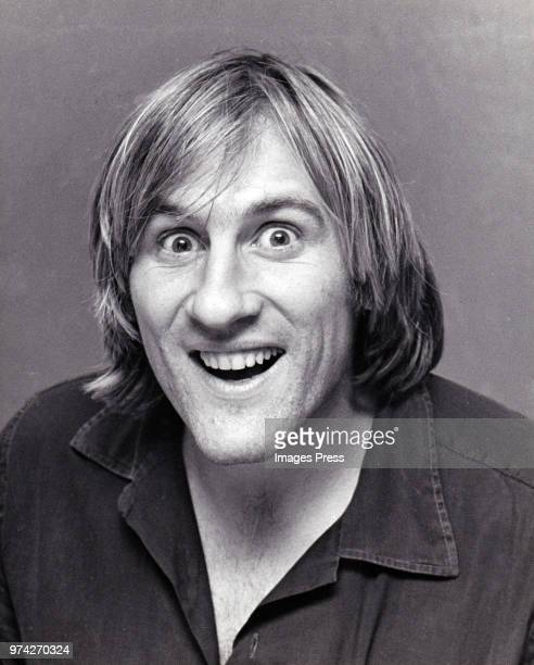 Gerard Depardieu circa 1981 in New York.