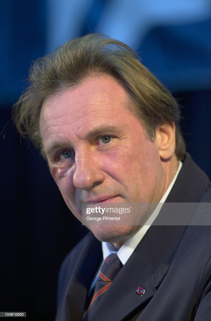 Montreal Film Festival -Gerard Depardieu Press Conference