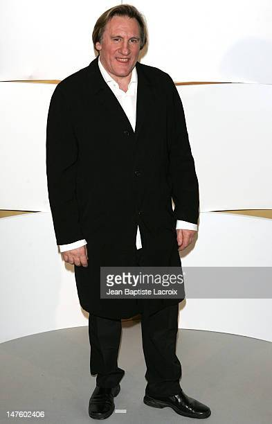 Gerard Depardieu during The 30th Cesar Awards Ceremony - Press Room at Chatelet Theatre in Paris, France.