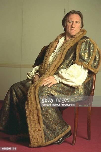 Gerard Depardieu in full costume