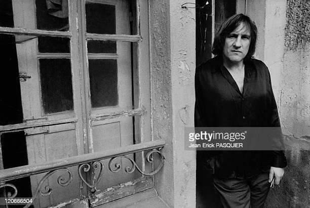 Gerard Depardieu On February 22, 1990.