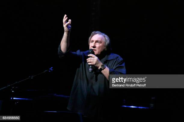 Gerard Depardieu sings Barbara accompanied on the piano of Barbara by Gerard Daguere who was Berabara's Pianist for more than 15 years Held at...
