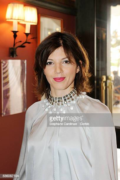 Gerard Depardieu's girlfriend Clementine Igou at the Majectic Hotel for the promotion of Depardieu's Brut Princess Depardieu wine during the 62nd...