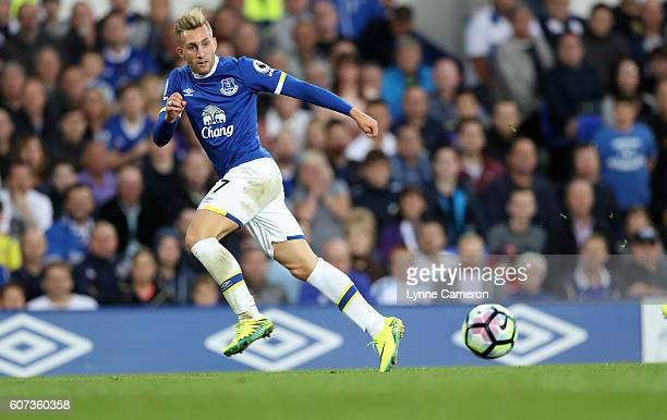 Gerard Deulofeu of Everton during the Premier League match between Everton and Middlesbrough at Goodison Park on September 17 2016 in Liverpool...
