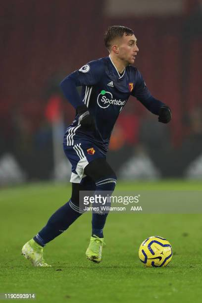 Gerard Deulofeu of Watford during the Premier League match between Sheffield United and Watford FC at Bramall Lane on December 26 2019 in Sheffield...