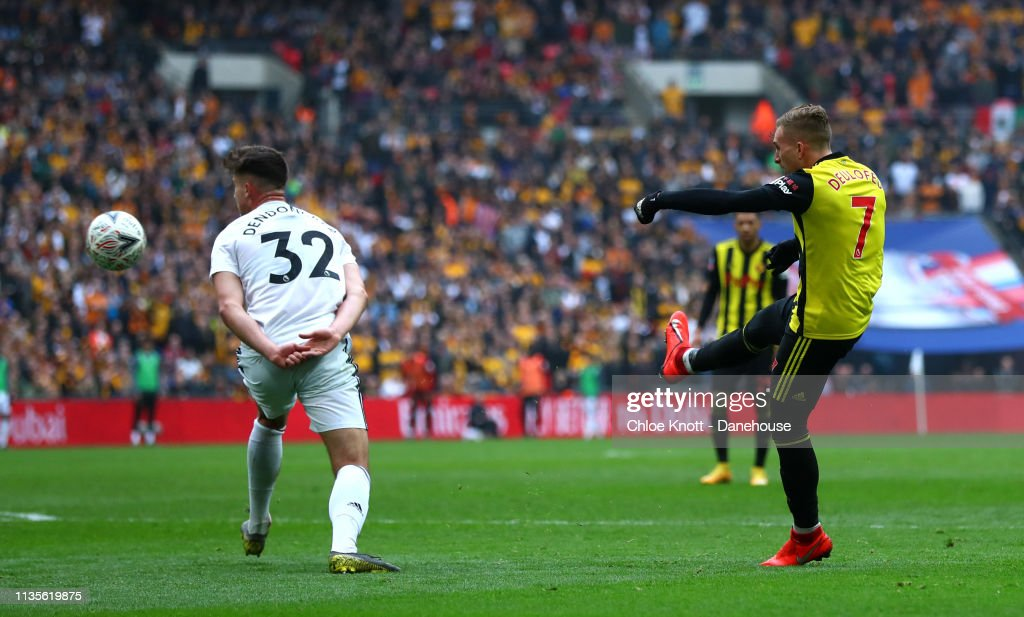 Wolverhampton Wanders and Watford FC - FA Cup Semi Final : News Photo