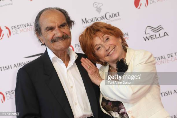 Gerard Hernandez and Marion Game arrive at the Opening Ceremony of the 57th Monte Carlo TV Festival and World premier of Absentia Serie on June 16...