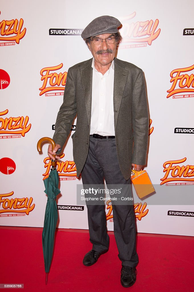 Gerard Hernandez attends the 'Fonzy' Paris Premiere at Cinema Gaumont Opera, in Paris.