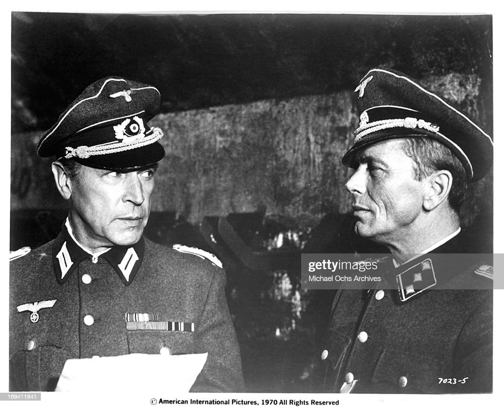 Gerard Herter And Wolfgang Preiss In 'Battle Of The Commandos' : News Photo