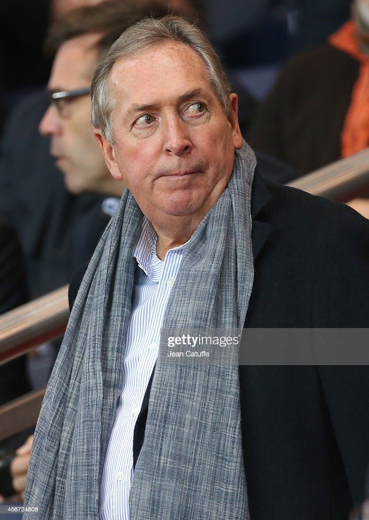 Gerard Houiller attends the French Ligue 1 match between Paris Saint-Germain FC and AS Monaco at Parc des Princes stadium on October 5, 2014 in Paris, France.