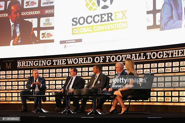 Gerard Houllier Red Bull Head of Global Football Alain Belsoeur Le Havre Advisor to the President Gilberto Silva Panathinaikos Technical Director Les...