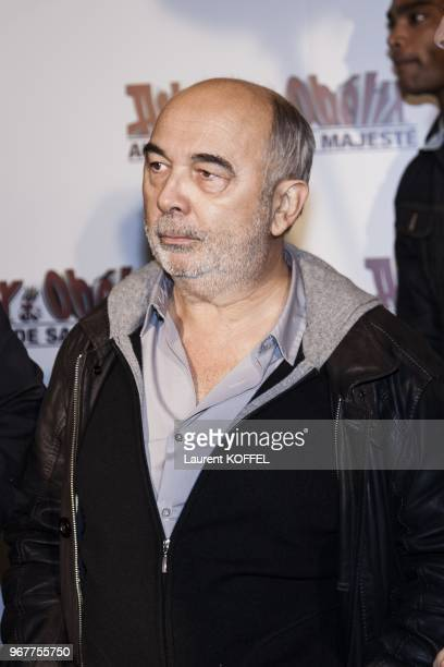 Gerard Jugnot attends at 'Asterix et Obelix au service de sa majeste' film premiere at 'Le Grand Rex' on September 30 2012 in Paris France