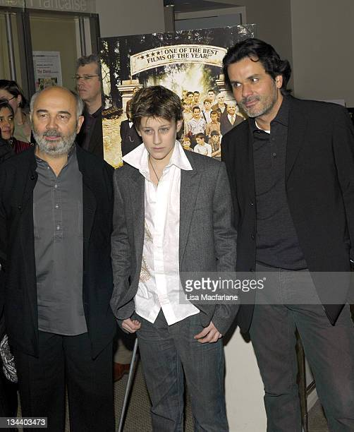 Gerard Jugnot JeanBaptiste Maunier and Christophe Barratier