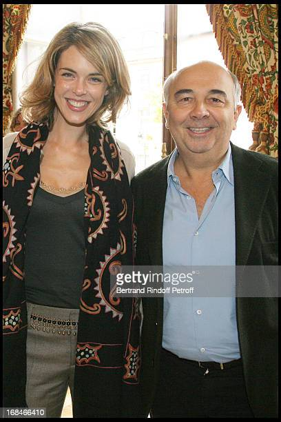 Gerard Jugnot Julie Andrieu at Gastronomic Lunch Cooked By Famed Chefs For France's Candidacy To Unesco's World Heritage At L' Hotel De Lassay In...
