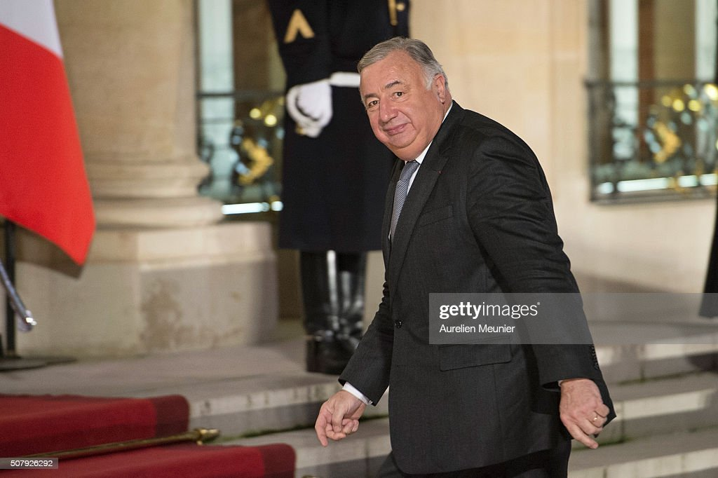 State Dinner in Honor of Raul Castro Ruz, President Of Cuba At Elysee Palace In Paris