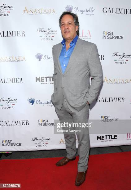 Gerard Longo attends BELLA New York Spring Issue cover party hosted by Kelly Osbourne at Bagatelle on April 24 2017 in New York City