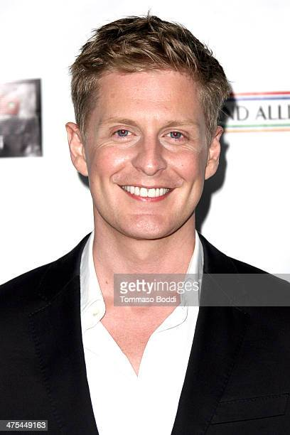 Gerard McCarthy attends the USIreland alliance preAcademy Awards event held at Bad Robot on February 27 2014 in Santa Monica California