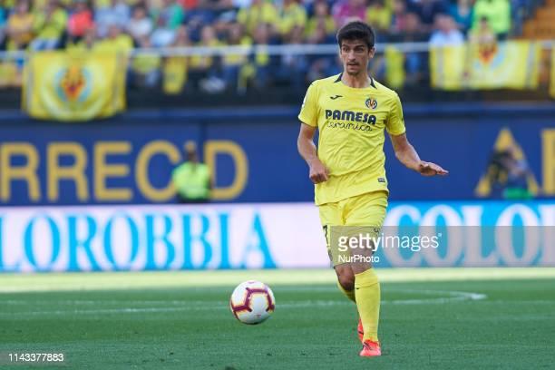 Gerard Moreno of Villarreal CF during the La Liga match between Villarreal and Eibar at Estadio de la Ceramica on May 12 2019 in Vilareal Spain