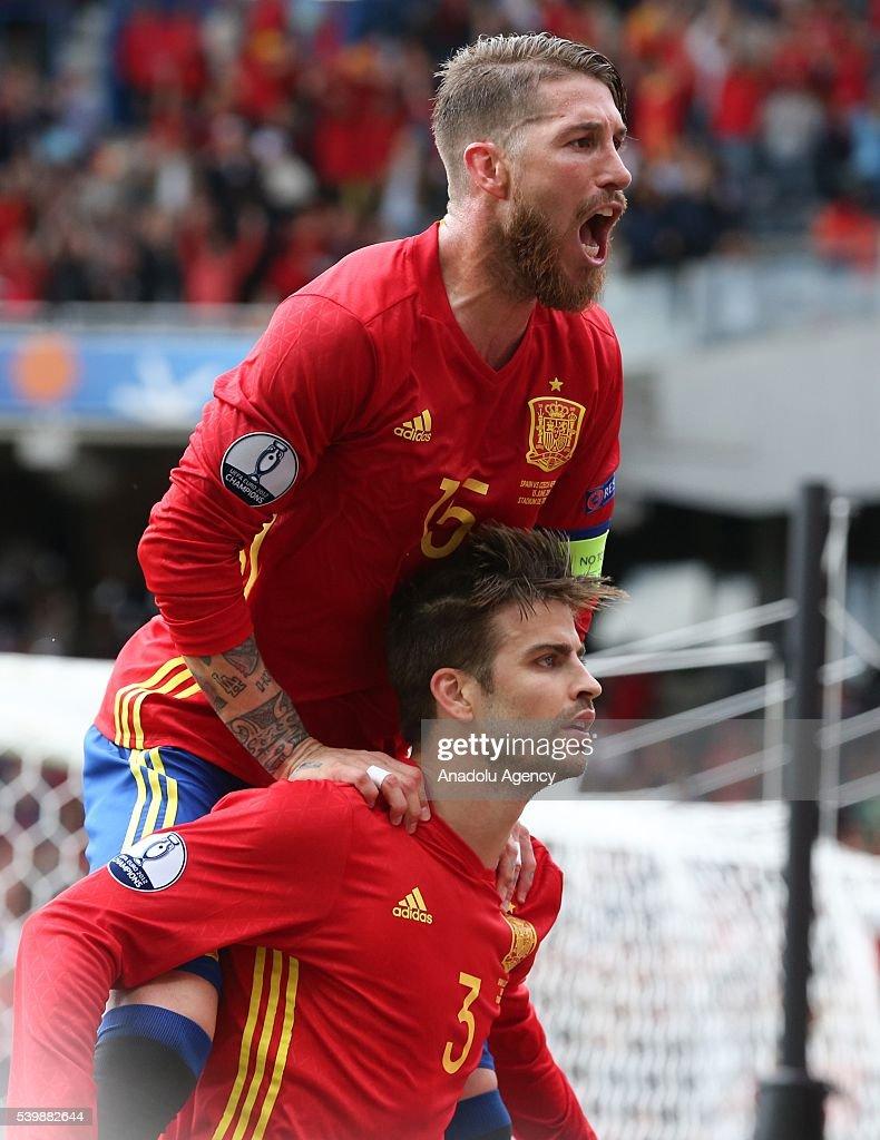 Spain v Czech Republic - EURO 2016 : News Photo