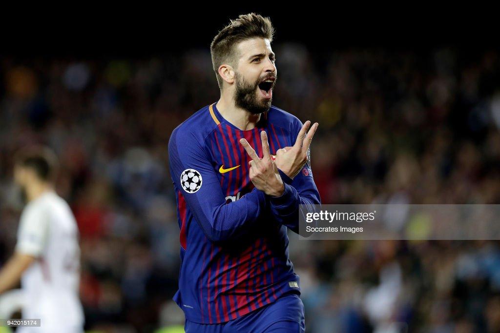 FC Barcelona v AS Roma - UEFA Champions League : News Photo