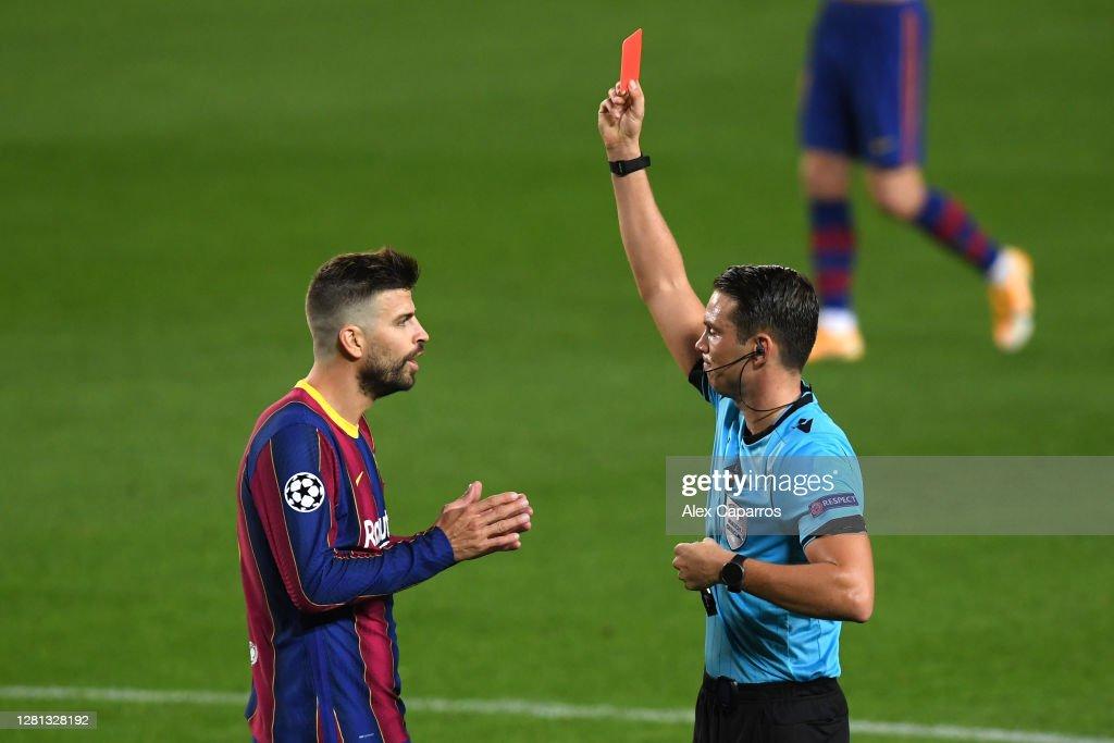 FC Barcelona v Ferencvaros Budapest: Group G - UEFA Champions League : News Photo