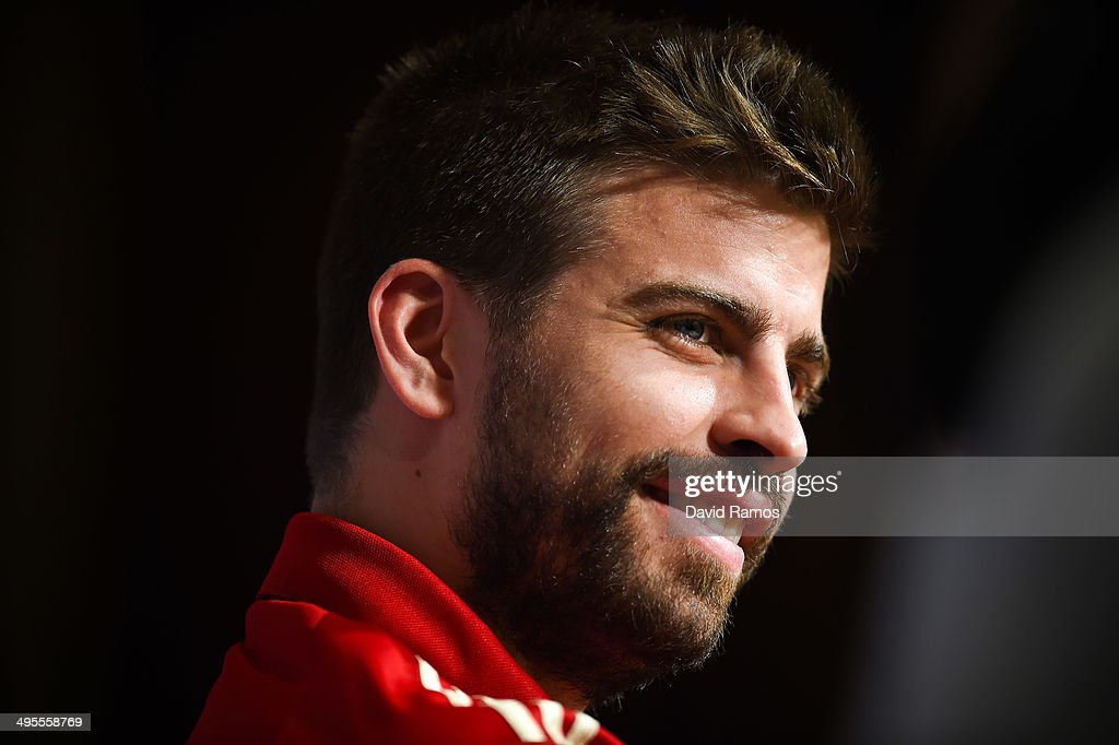 Spain Training Session and Press Conference : News Photo