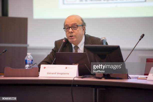 Gerard Vespierre Paris Universite Dauphine Gerard Vespierre Associate Researcher at the Fondation d Etudes pour leOrient speaks in a conference at...