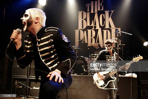 Gerard Way and Mikey Way of My Chemical Romance during Aol Music LIVE Presents My Chemical Romance at the House of Blues October 31 2006 at House of...