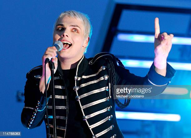 Gerard Way of My Chemical Romance during 2006 MTV Video Music Awards – PreShow at Radio City Music Hall in New York City New York United States