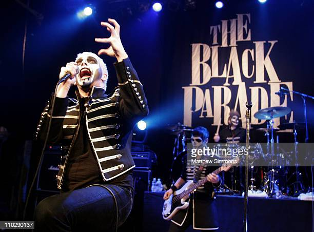Gerard Way of My Chemical Romance during Aol Music LIVE Presents My Chemical Romance at the House of Blues October 31 2006 at House of Blues in Los...