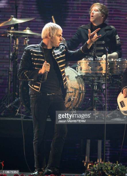 Gerard Way of My Chemical Romance during Spike TV's Scream Awards 2006 Show at Pantages Theater in Hollywood California United States