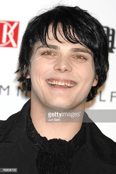 Gerard Way of My Chemical Romance winner of Best Rock Video