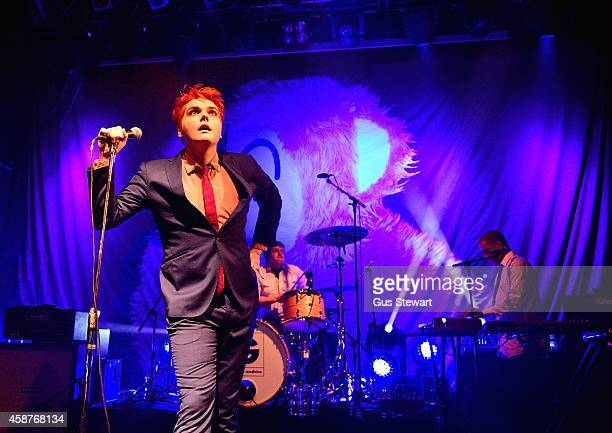 Gerard Way performs on stage at KOKO on November 10 2014 in London United Kingdom