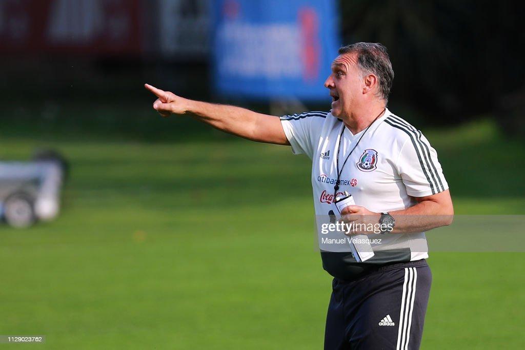 Mexico Training Session : News Photo