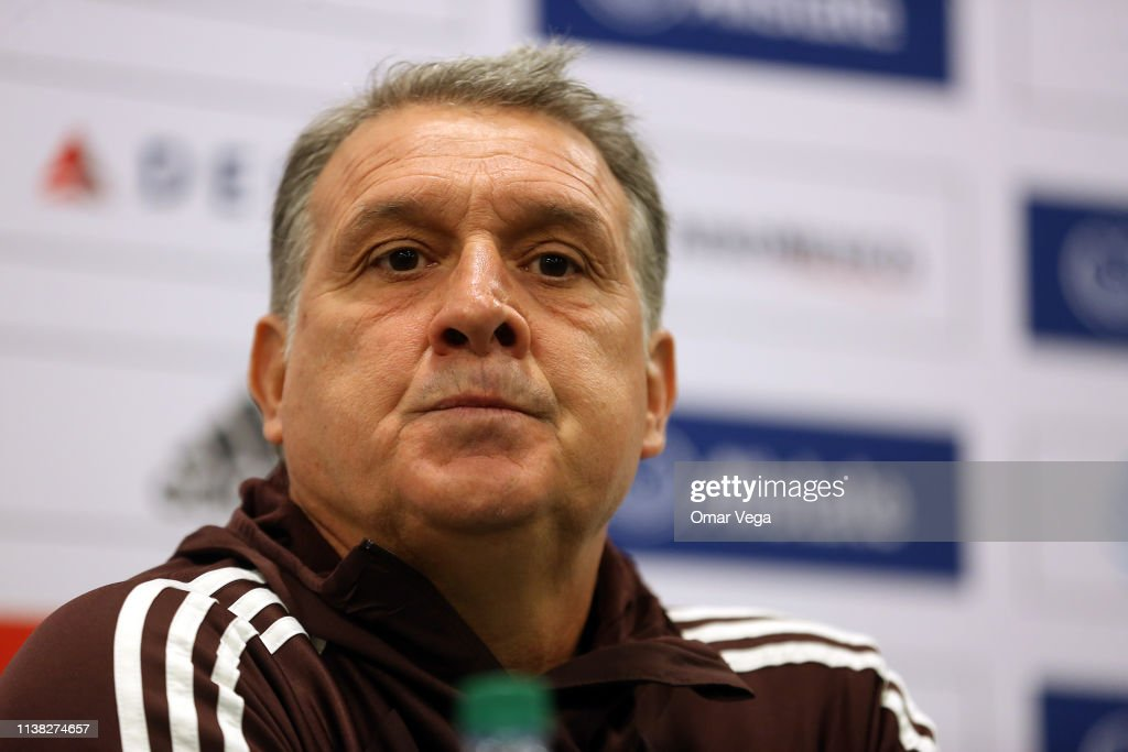 CA: Mexico Training And Press Conference
