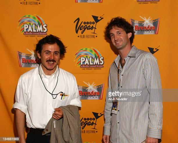 Gerardo Naranja director and Trevor Groth Programming Director for CineVegas