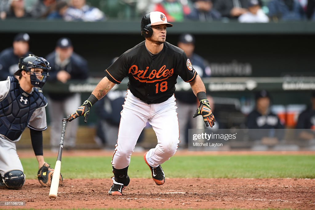 New York Yankees at Baltimore Orioles - Game One : News Photo