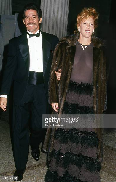 Gerardo Rivera and his wife CC Dyer attend the Costume Institute gala held at New York city's Metropolitan Museum 1989