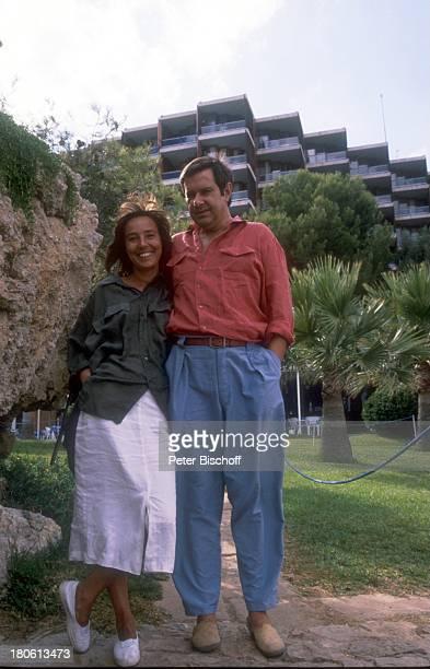 Gerd Baltus Ehefrau Brigitte Rokohl Spanien/Mallorca Urlaub Frau